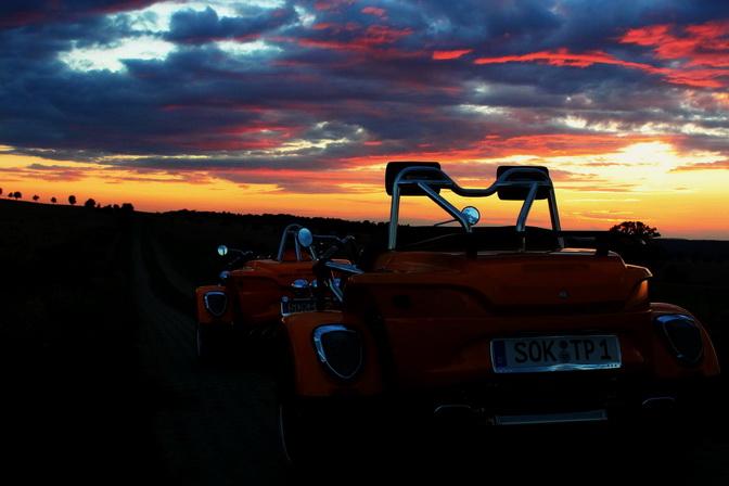 Trike Sonnenuntergang