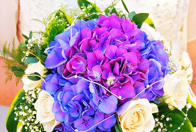 bridal bouquet || Brautstrauß