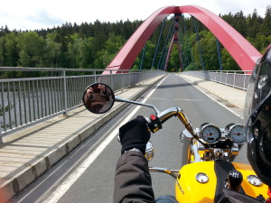 Über sieben Brücken musst du fahren...