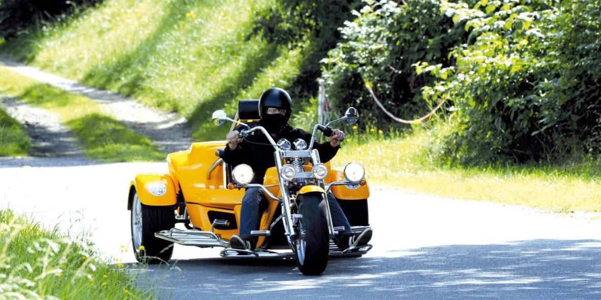 Trikefahren Thüringen Road