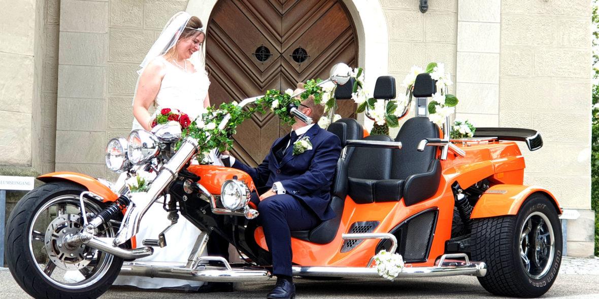 Trike Hochzeit